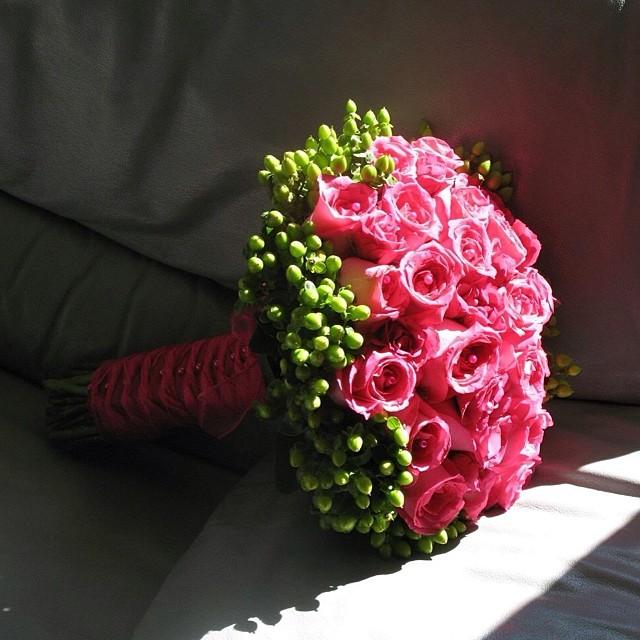 Pink #bridalbouquet
