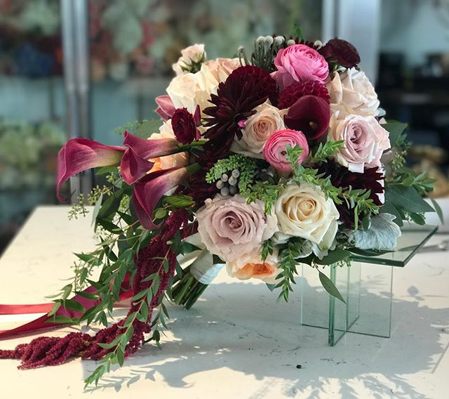that bouquet though ..