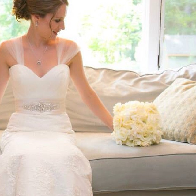 Instagram - White bridal bouquet #wedding #weddings #decorgalore #weddingflowers #bride #roses #hydr