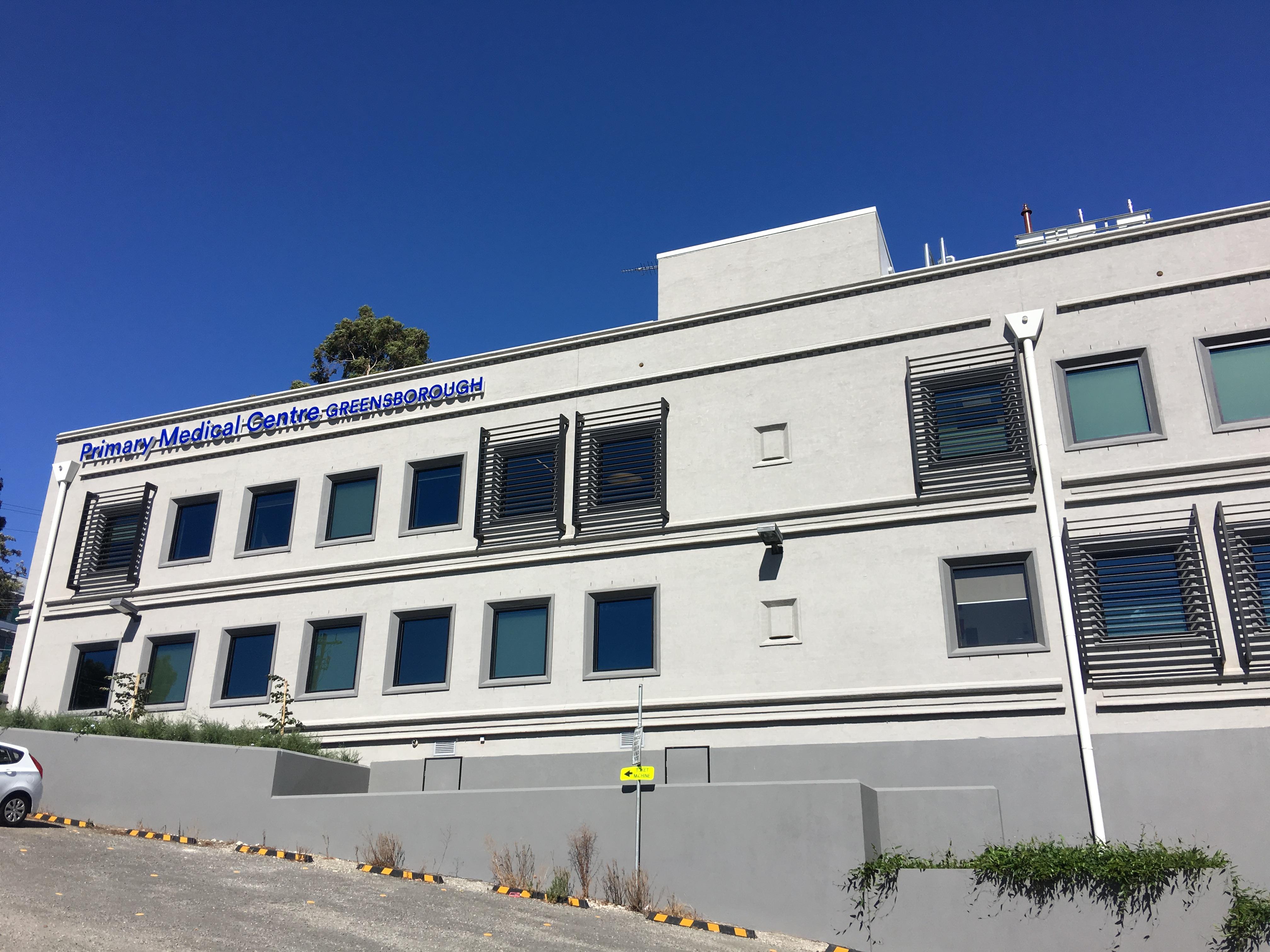 GREENSBOROUGH MEDICAL CENTRE