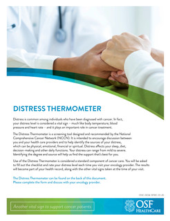 Distress Thermometer