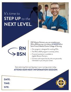 College of Nursing: RN to BN