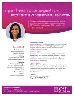 Breast Surgery Service Brief