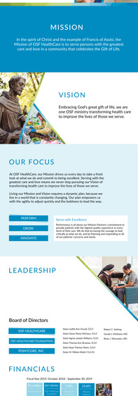Annual Report Landing Page