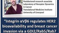 Integrin aVB6 regulates HER2 bioavailability and breast cancer invasion via a GDI2/Rab5/Rab7 traffic