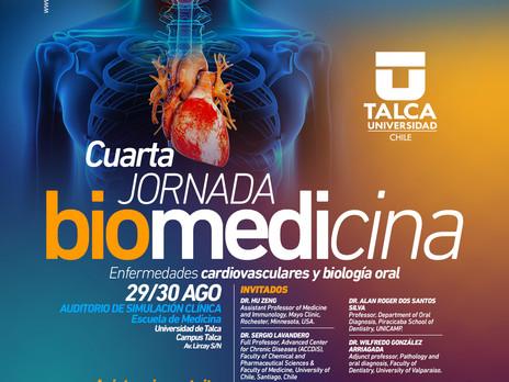 IV JORNADA BIOMEDICINA, ENFERMEDADES CARDIOVASCULARES Y BIOLOGÍA ORAL