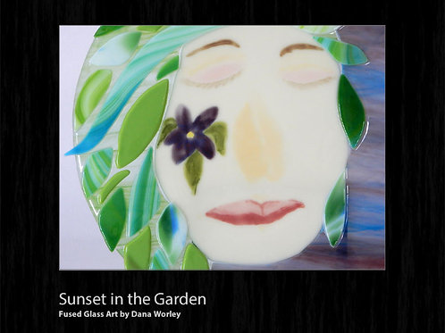 Sunset in the Garden Tutorial