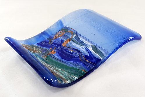 Blue Wave spoon rest