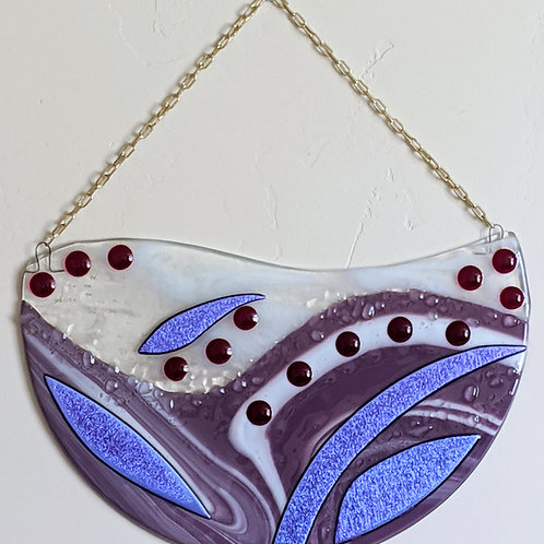Purple Bling wall hanging