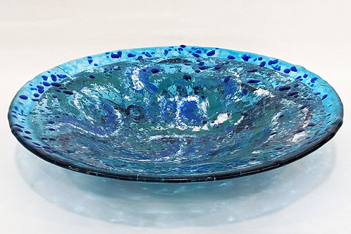 Blue and Sea Green Bowl