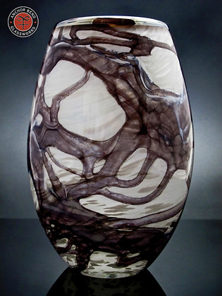 hand blown glass driftwood votive gift anchor bend glassworks art lighting made in the usa