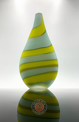 hand blown glass art vase vessel anchor bend glassworks gift