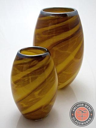 hand blown glass mooring votive gift anchor bend glassworks art lighting newport restaurant group