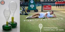 Tennis Hall of Fame Custom Trophy