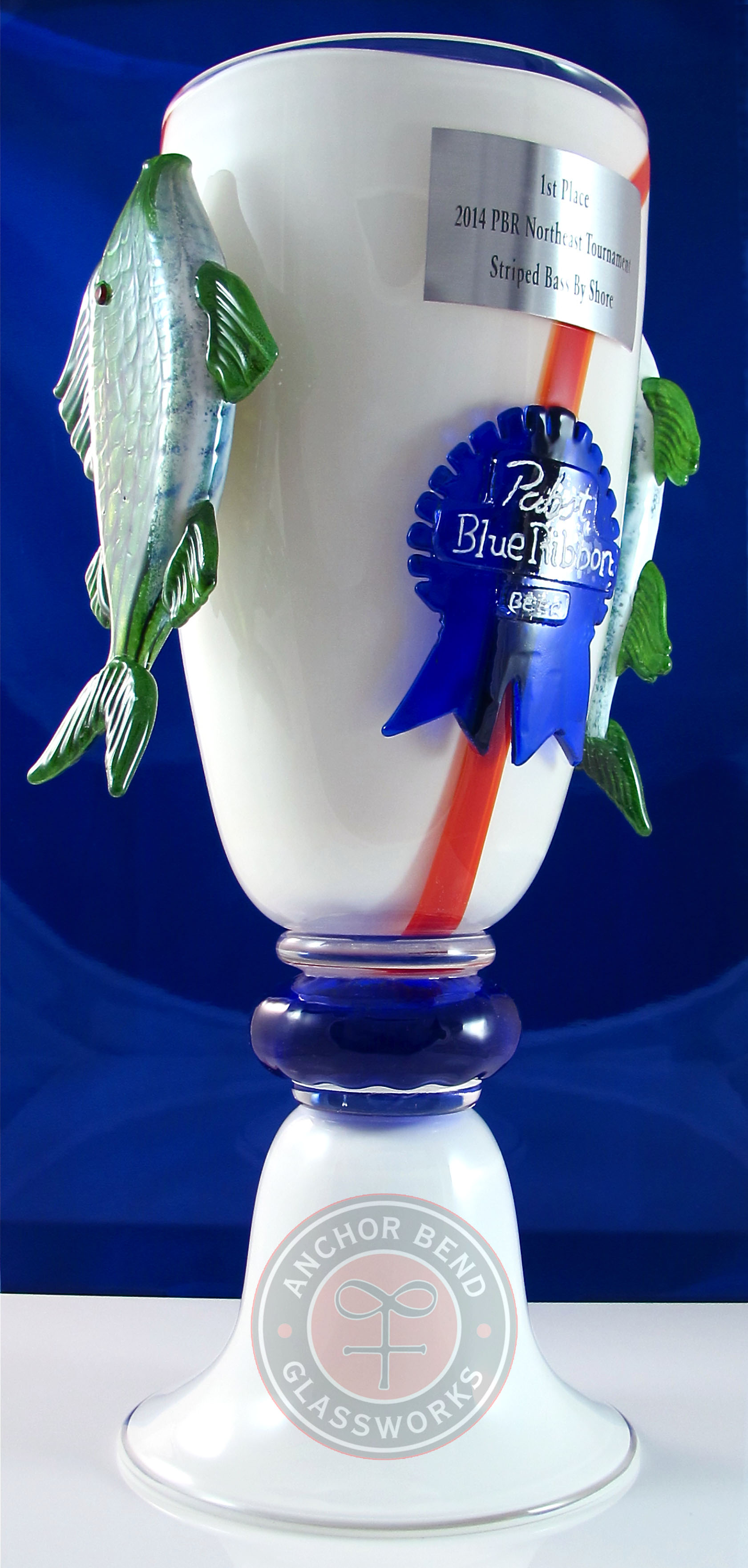 Pabst Blue Ribbon Fishing Trophy