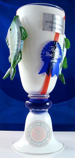 Pabst Blue Ribbon Fishing Trophy