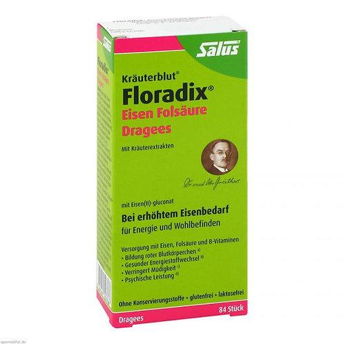 Floradix Eisen Folsäure Dragees 84 St
