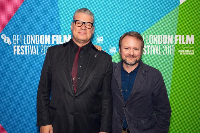 BFI LFF Rian Johnson & Makr Komode