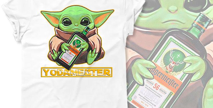Футболка Baby Yoda Mandalorian