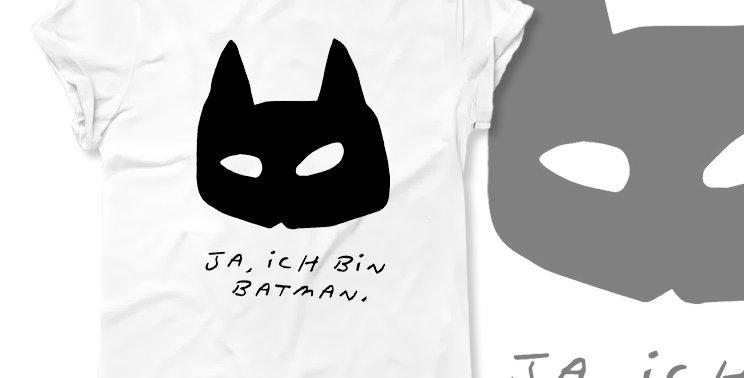 Футболка Я Бэтмен - арт.429