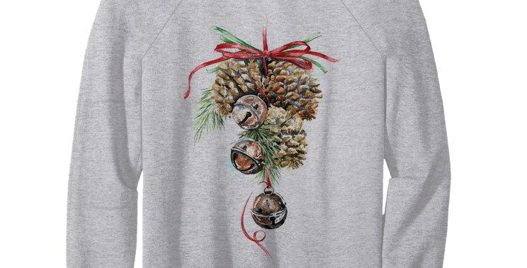 Свитшот Рождественские шишки