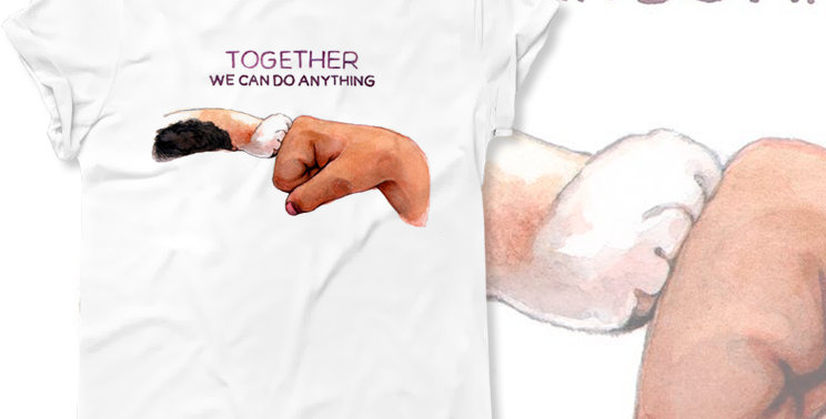 Футболка Вместе мы можем все