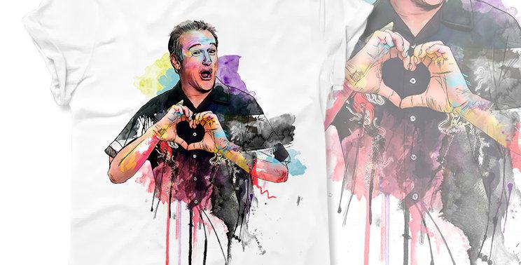 Футболка Robin Williams