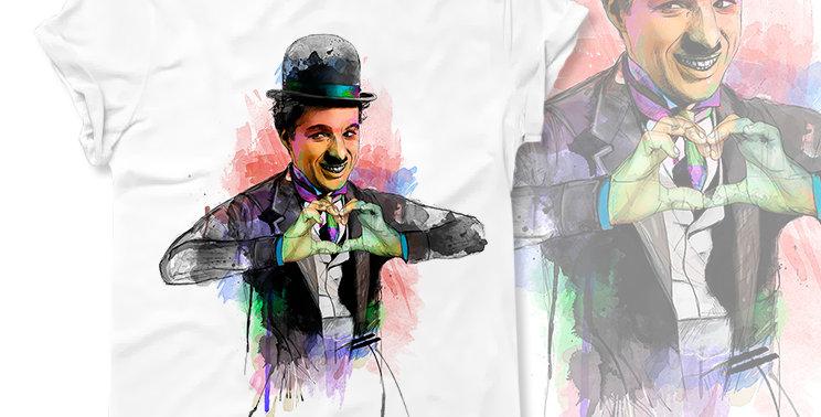 Футболка Charlie Chaplin