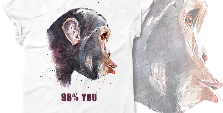 Футболка Monkey 98% You