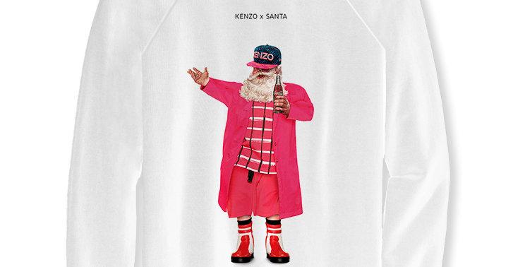 Свитшот Kenzo Santa