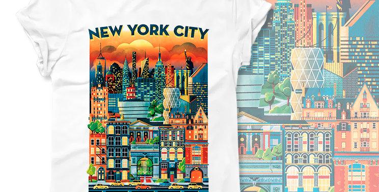 Футболка New York City