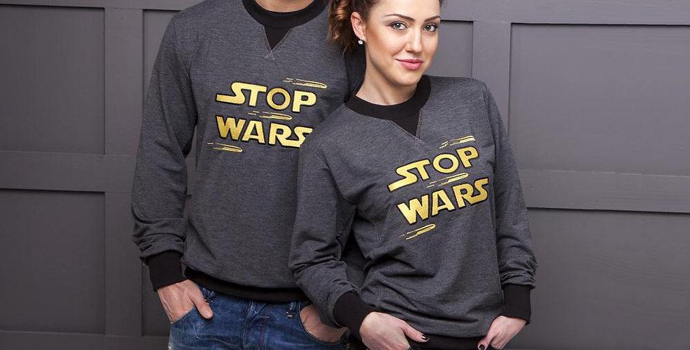 """Свитшот """"STOP WARS"""""""