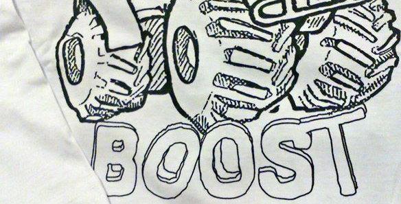 "Детская кофта ""Turbo boost"""