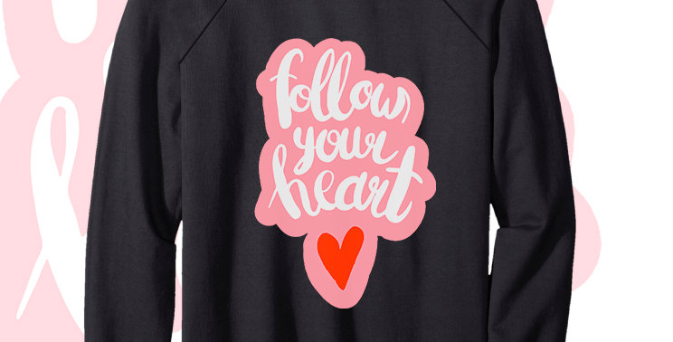 Свитшот Follow your heart