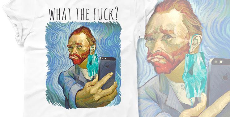 Футболка Van Gogh What the Fuck?