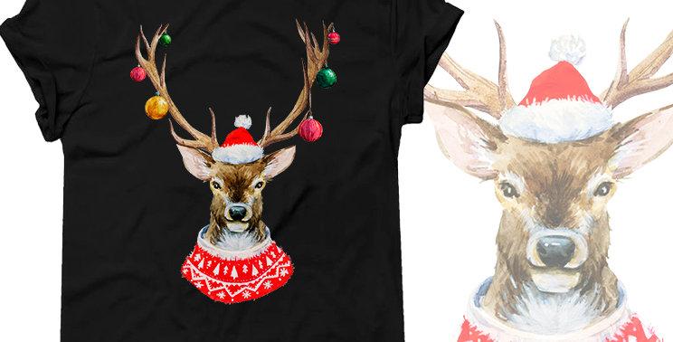 "Футболка ""Christmas deer"""
