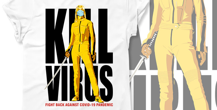 T-shirt Kill Virus aka Kill Bill