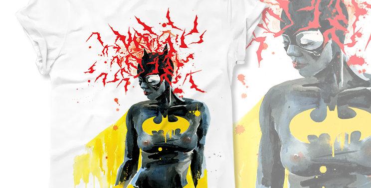 Футболка Batwoman - арт. 415