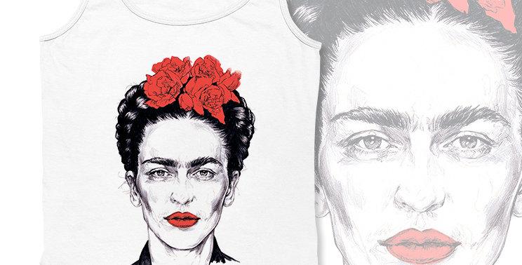 Майка Frida Kahlo