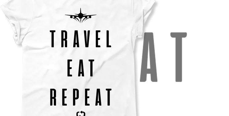Футболка Travel.eat.repeat