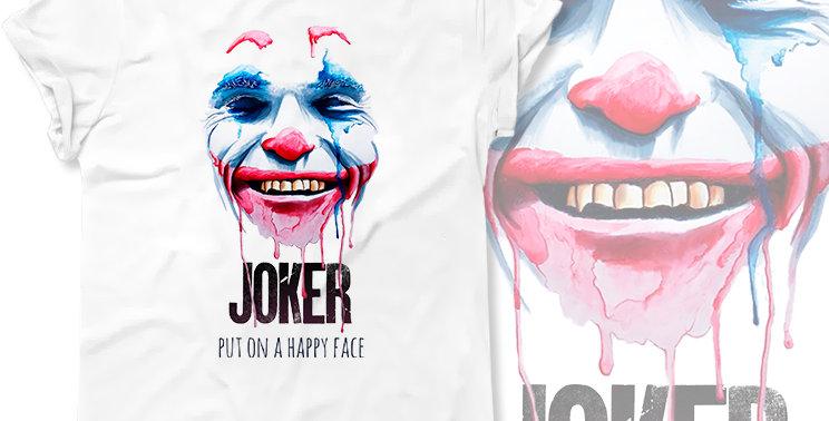 Футболка Джокер Joker Joaquin Phoenix