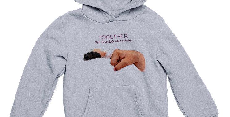 Худи Вместе мы можем все