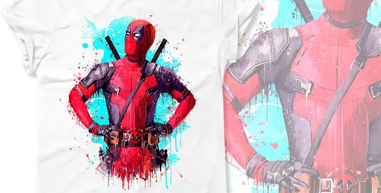 Футболка Deadpool Marvel