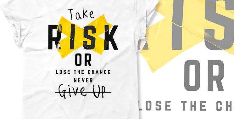 Футболка Рискни Take risk
