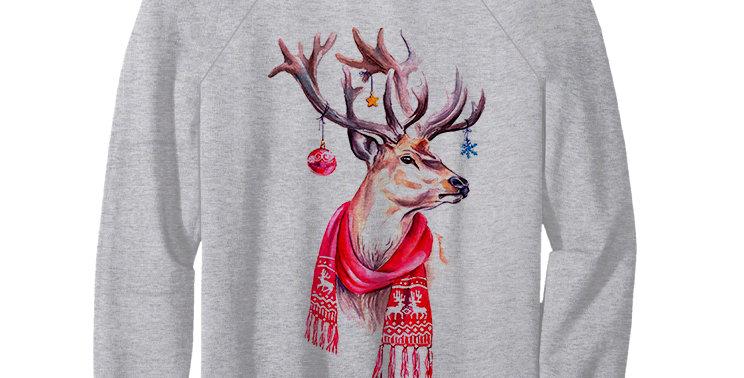 Свитшот Рождественский олень
