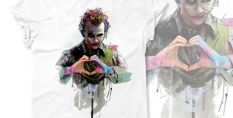 Футболка Heath Ledger as the Joker