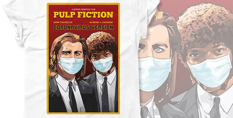Футболка Pulp Fiction Coronavirus Version