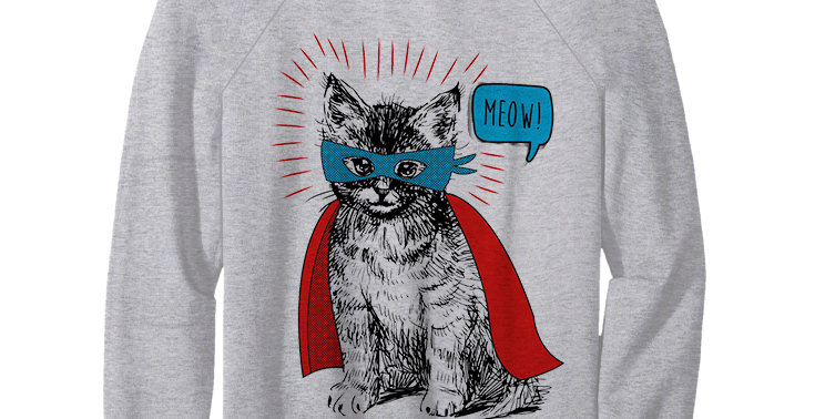 Свитшот  Супер кот