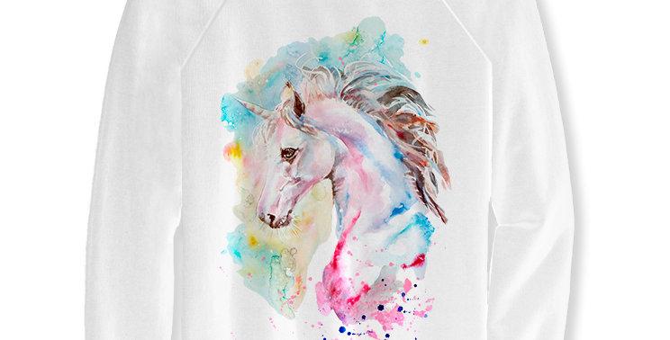 Sweatshirt Pink unicorn