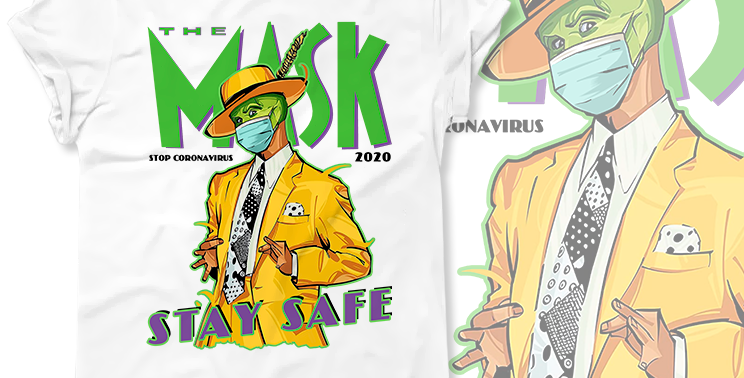 Футболка The Mask Stay Safe